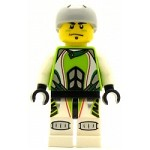 LEGO Racers Minifigure World Team X-treme Daredevil 1 REX-treme