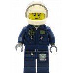 LEGO Town Minifigure Undercover Elite Helicopter Pilot