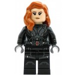 LEGO Super Heroes Minifigure Black Widow - Printed Arms
