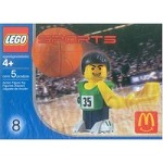 LEGO 7918 Sports Basketball Player, Green