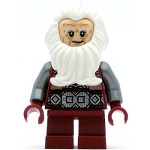 LEGO The Hobbit and the Lord of the Rings Minifigure Balin the Dwarf - No Cape (79018)