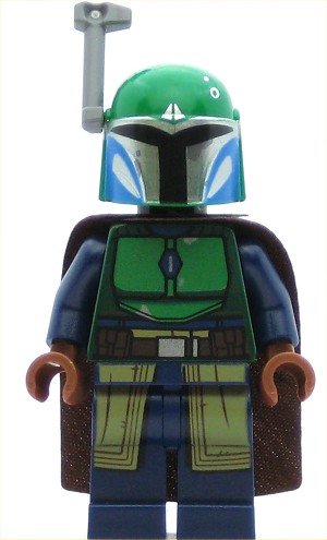 LEGO Star Wars Minifigure Mandalorian Warrior - Female, Dark Blue