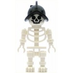 LEGO Other Minifigure Skeleton with Conquistador Helmet