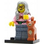 LEGO Collectible Minifigures The Movie Mrs. Scratchen-Post