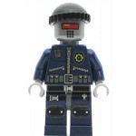 LEGO The Lego Movie Minifigure Robo SWAT with Knit Cap