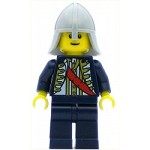 LEGO Minifigure Red Sash Light Bluish Gray Neck Protector (9349)