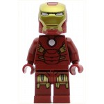 LEGO Juniors Minifigure Iron Man with Circle on Chest
