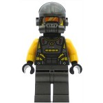 LEGO Super Heroes Minifigure AIM Agent - Neck Bracket on Front