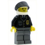 LEGO Town Minifigure Police Suit with Blue Tie and Badge