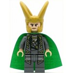 LEGO Juniors Minifigure Loki Shiny Starched Fabric Cape