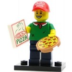 LEGO Collectible Minifigures Series 12 Pizza Delivery Guy