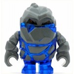 LEGO Power Miners Minifigure Rock Monster Glaciator Trans-Dark Blue