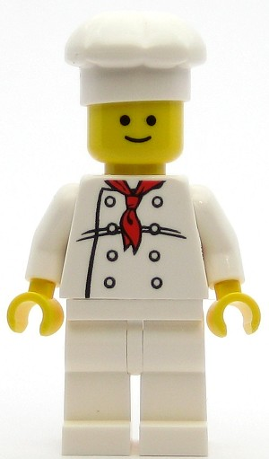 LEGO Town Minifigure Chef