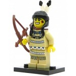 LEGO Collectible Minifigures Series 1 Tribal Hunter (Indian)