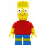 LEGO The Simpsons Minifigure Bart Simpson