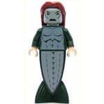 LEGO Harry Potter Minifigure Merman Fish Tail Long Dark Red Hair