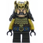 LEGO The Hobbit and the Lord of the Rings Minifigure Thorin Oakenshield - Gold Armor and Crown (79017)