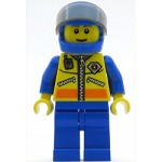 LEGO Minifigure Coast Guard City Helicopter Pilot 1