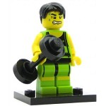 LEGO Collectible Minifigures Series 2 Weightlifter