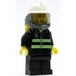 LEGO Town Minifigure Fire Reflective Stripes with Airtanks