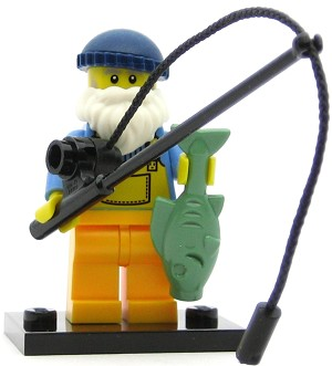 LEGO Collectible Minifigures Series 3 Fisherman