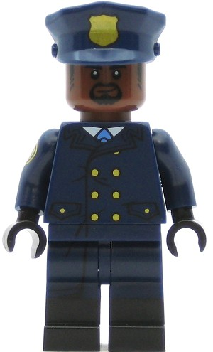 LEGO Super Heroes Minifigure GCPD Officer 1 (853651)