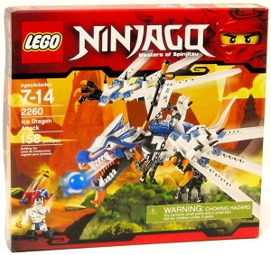 LEGO 2260 NinjaGo Ice Dragon