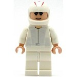 LEGO Racers Minifigure Speed Racer White Racing Coveralls