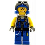 LEGO Power Miners Minifigure Rex Goggles