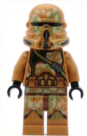 LEGO Star Wars Minifigure Geonosis Clone Trooper