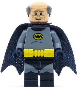 LEGO Super Heroes Minifigure Alfred Pennyworth Batsuit (70922)