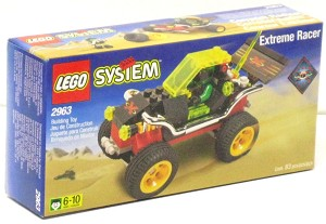 LEGO 2963 Town Extreme Team Racer