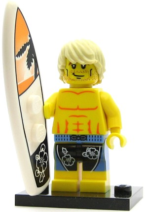 LEGO Collectible Minifigures Series 2 Surfer