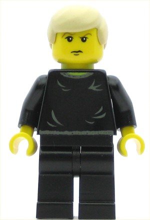 LEGO Harry Potter Minifigure Draco Malfoy Black Sweater