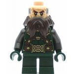 LEGO The Hobbit and the Lord of the Rings Minifigure Dwalin the Dwarf - No Cape (79018)
