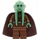 LEGO Star Wars Minifigure Kit Fisto with Cape