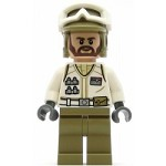 LEGO Star Wars Minifigure Hoth Rebel Trooper White Uniform