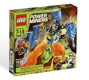 LEGO 8189 Power Miners Magma Mech