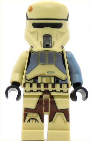 LEGO Star Wars Minifigure Shore Trooper