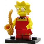 LEGO Collectible Minifigures The Simpsons Lisa Simpson