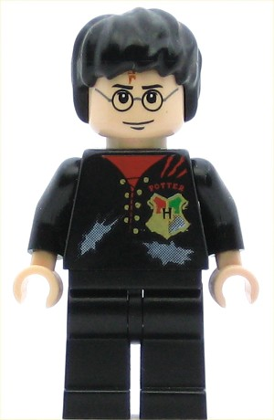 LEGO Harry Potter Minifigure Tournament Uniform Tattered Shirt