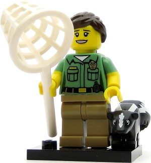 LEGO Collectible Minifigures Series 15 Animal Control