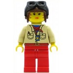 LEGO Adventurers Minifigure Pippin Reed Flying Helmet and Goggles