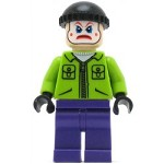 LEGO Super Heroes Minifigure The Joker's Henchman Lime Jacket