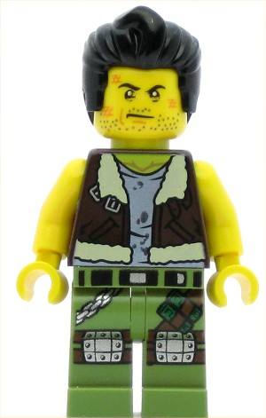 LEGO Monster Fighters Minifigure Frank Rock