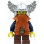 LEGO Castle Minifigure Fantasy Era Dwarf Dark Orange Beard