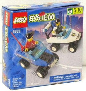 LEGO 6333 Town Race and Chase