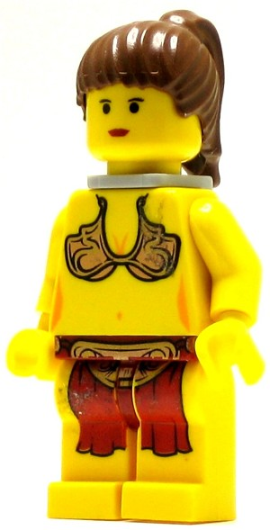 LEGO Star Wars Minifigure Princess Leia Jabba Slave