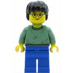 LEGO Minifigure Harry Potter Sand Green Sweater Torso Blue Legs