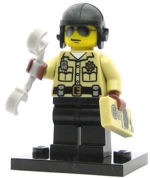 LEGO Collectible Minifigures Series 2 Traffic Cop